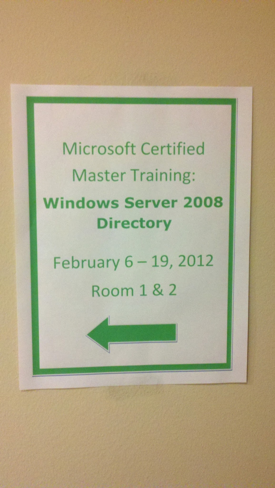My journey to become a microsoft certified master mcm part 2 arrived xflitez Image collections